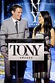 hugh jackman surprises jonathan groff lucy liu at tony awards announcements 07