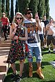 joe jonas dianna agron desert pool party pals coachella 09