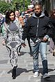 kim kardashian changes into two different dresses 15
