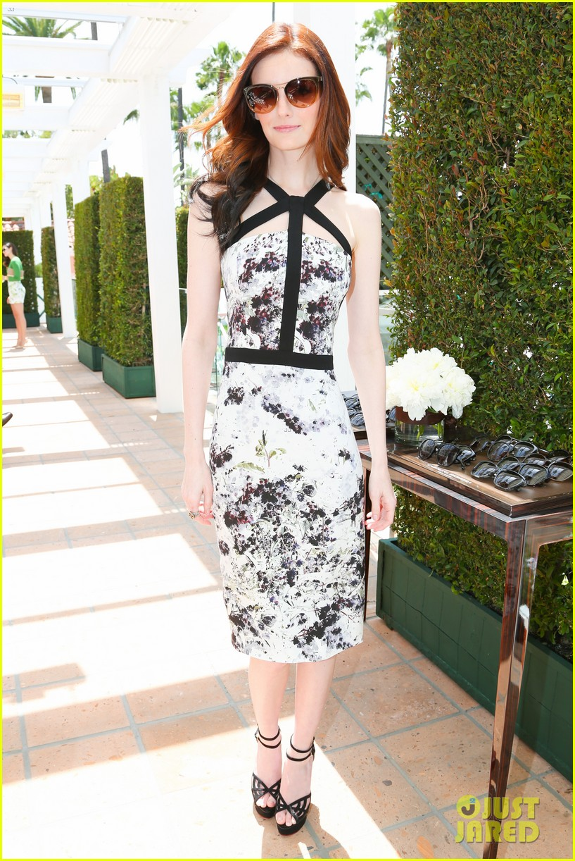 jaime king birthday carolina herrera luncheon 07