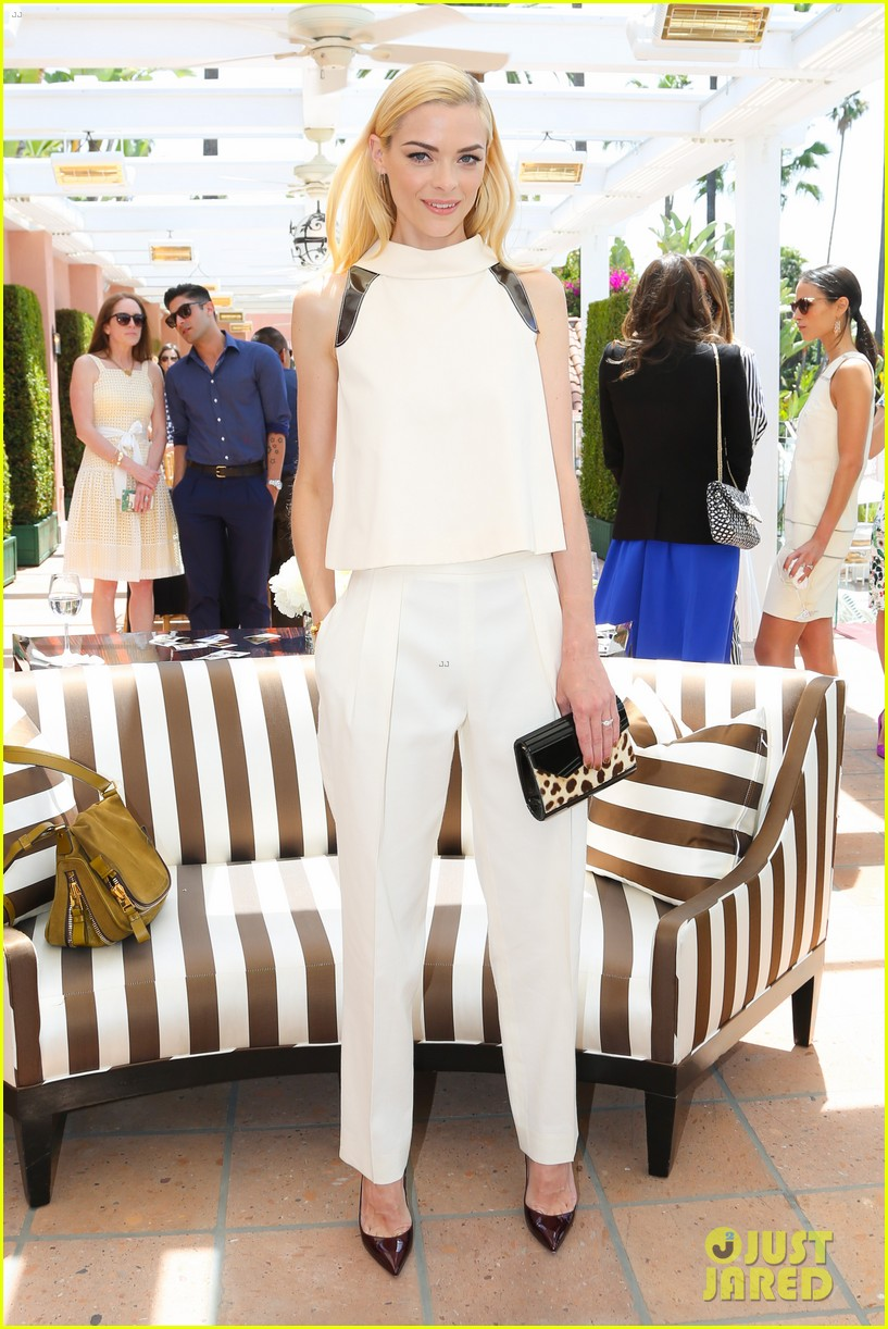jaime king birthday carolina herrera luncheon 11