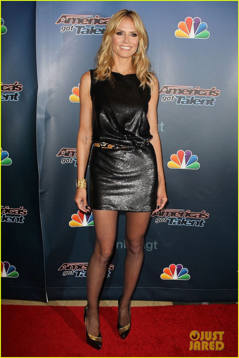 heidi klum americas got talent new york 17