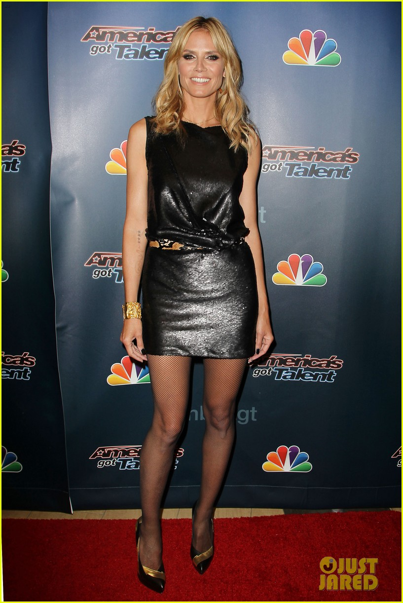 heidi klum americas got talent new york 19