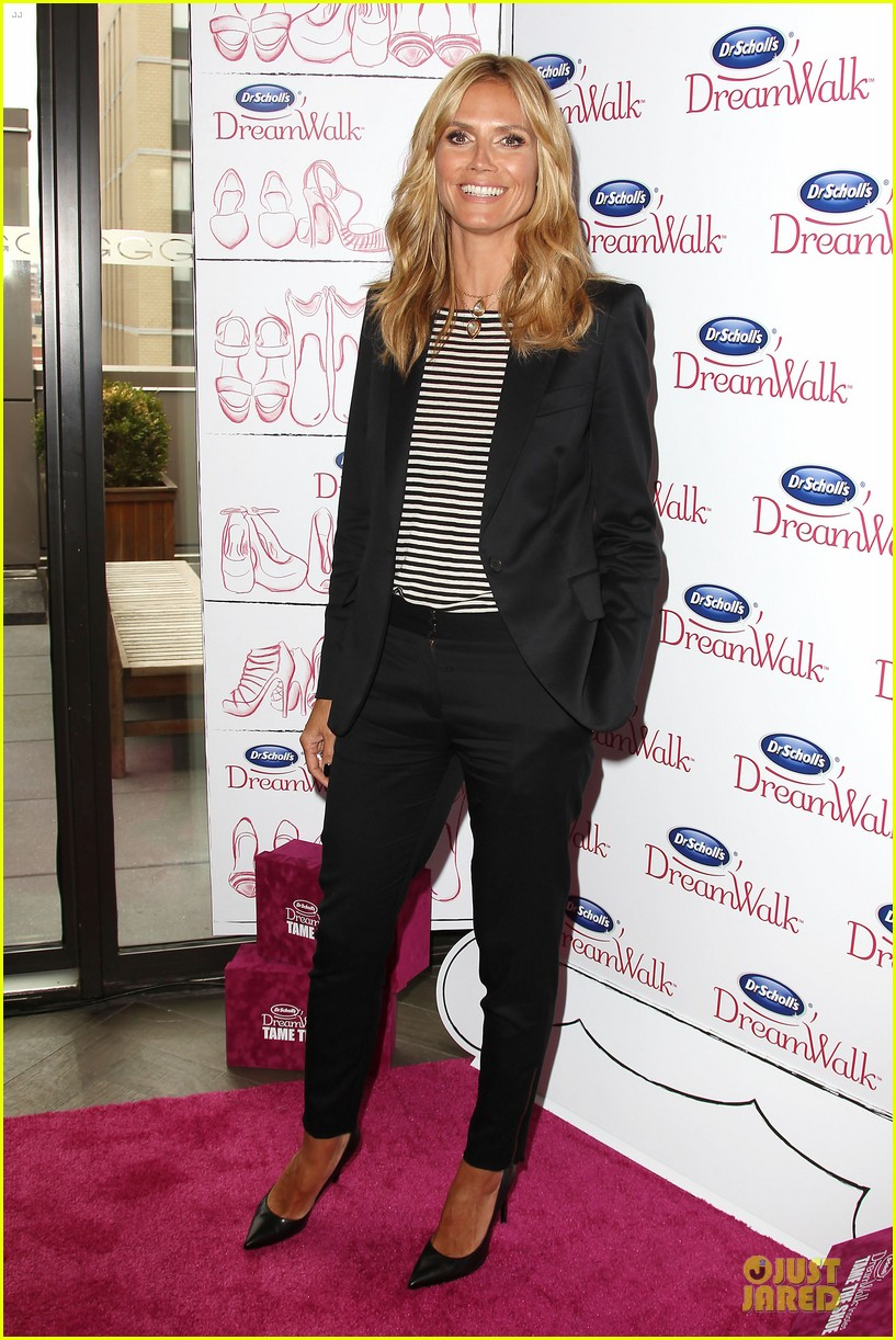 heidi klum dr scholl dreamwalk line meet needs 013083534