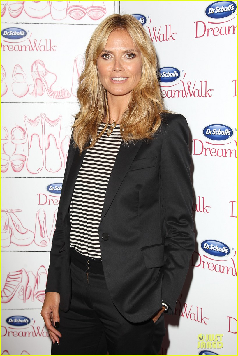 heidi klum dr scholl dreamwalk line meet needs 063083539