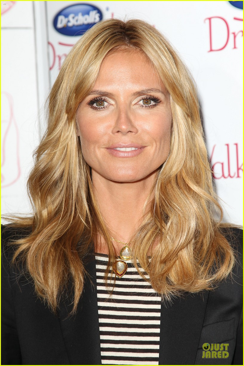 heidi klum dr scholl dreamwalk line meet needs 093083542