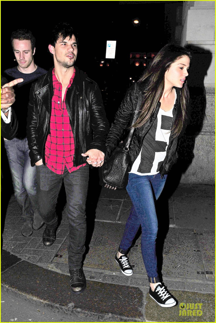 taylor lautner marie avgeropoulos inseparable london 03