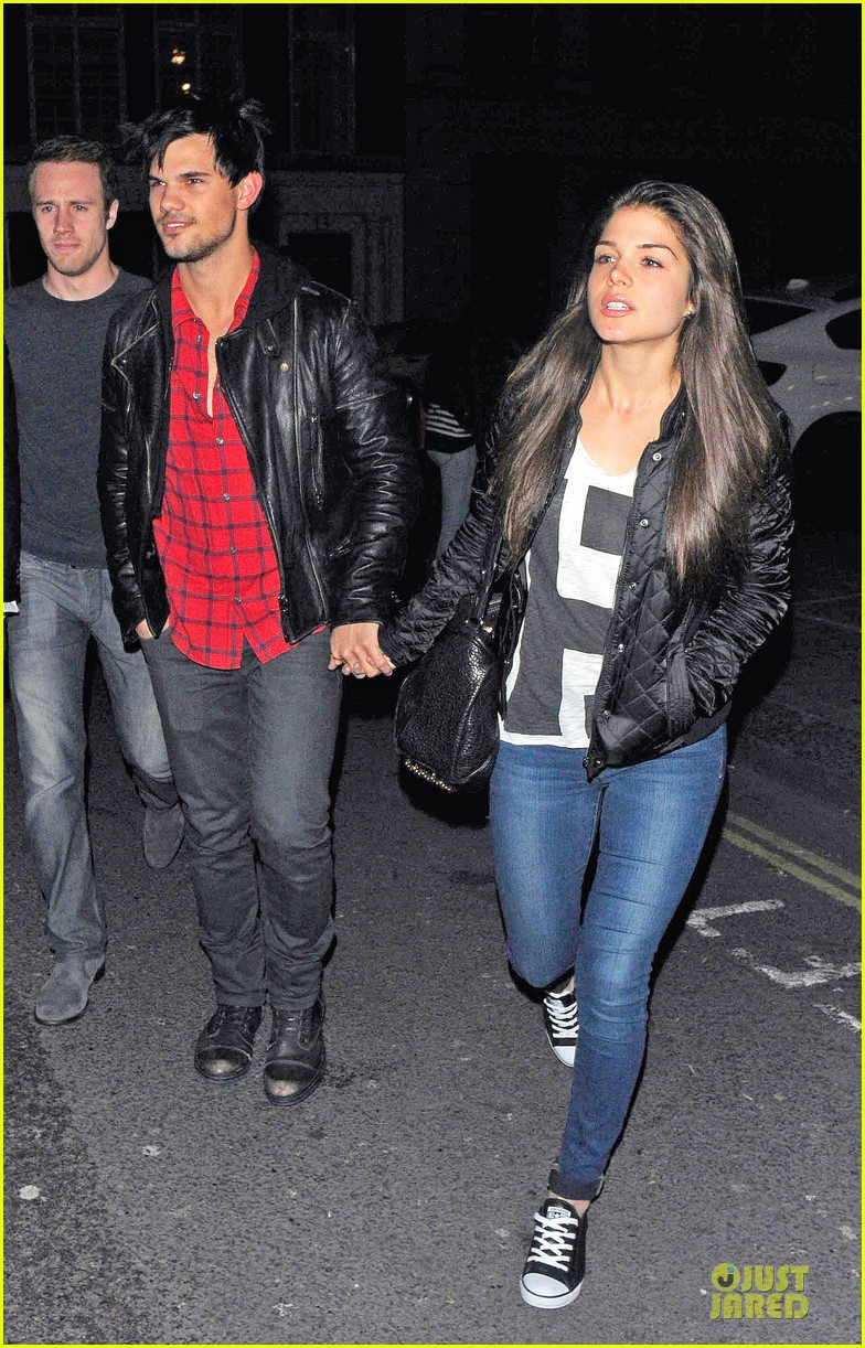 taylor lautner marie avgeropoulos inseparable london 093092533