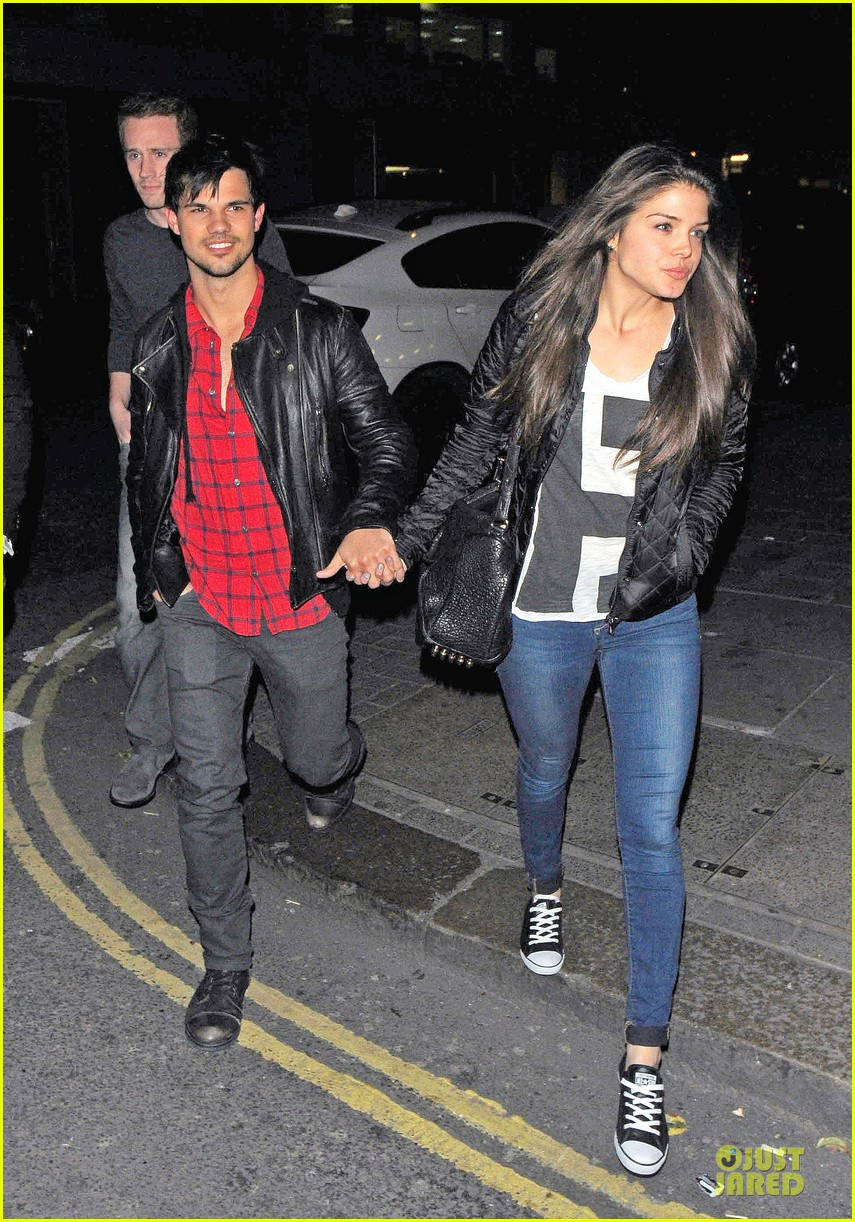 taylor lautner marie avgeropoulos inseparable london 15