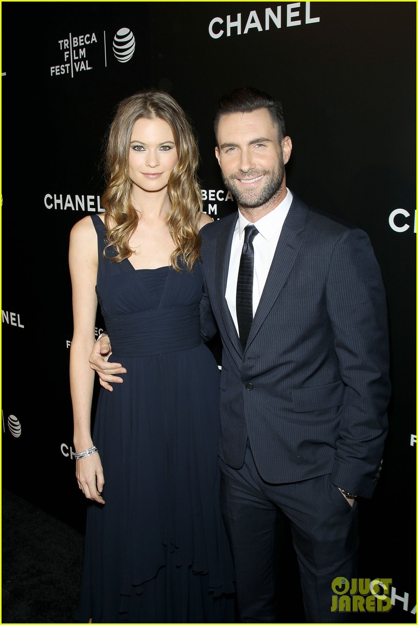 adam levine behati prinsloo party the night away at tribeca 143099967