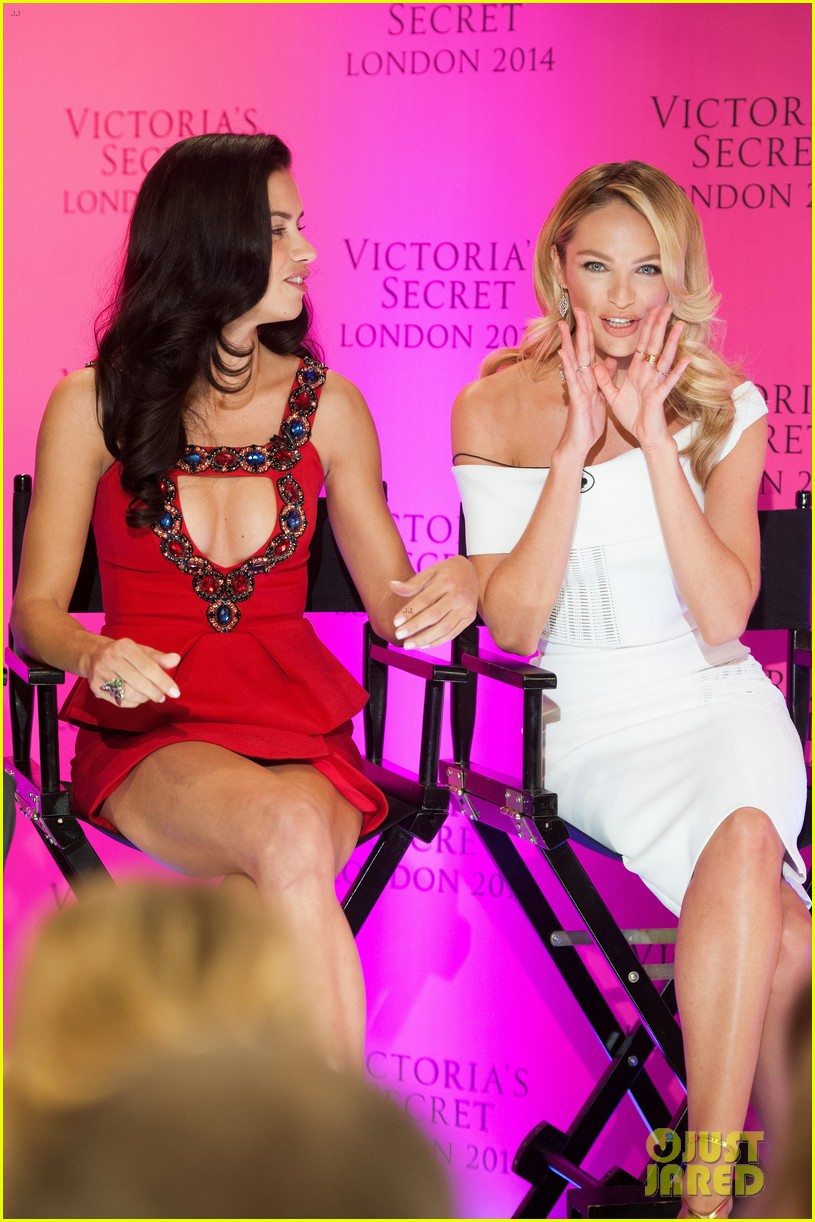 adriana lima candice swanepoel announce victorias secret fashion show 17
