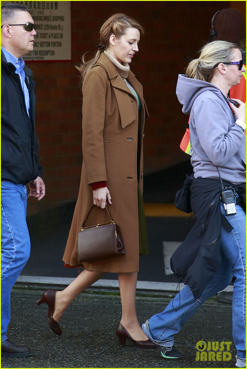 blake lively back at work on age of adaline after injury 143101414