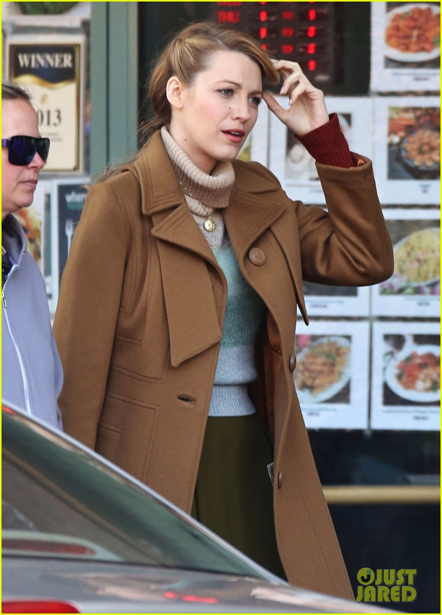 blake lively back at work on age of adaline after injury 163101416