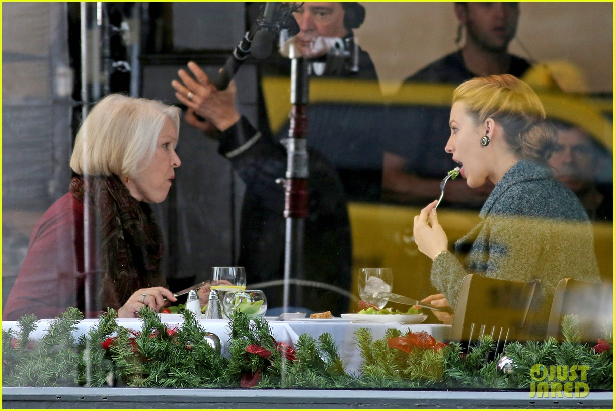 blake lively on screen mom ellen burstyn lunch in character 12