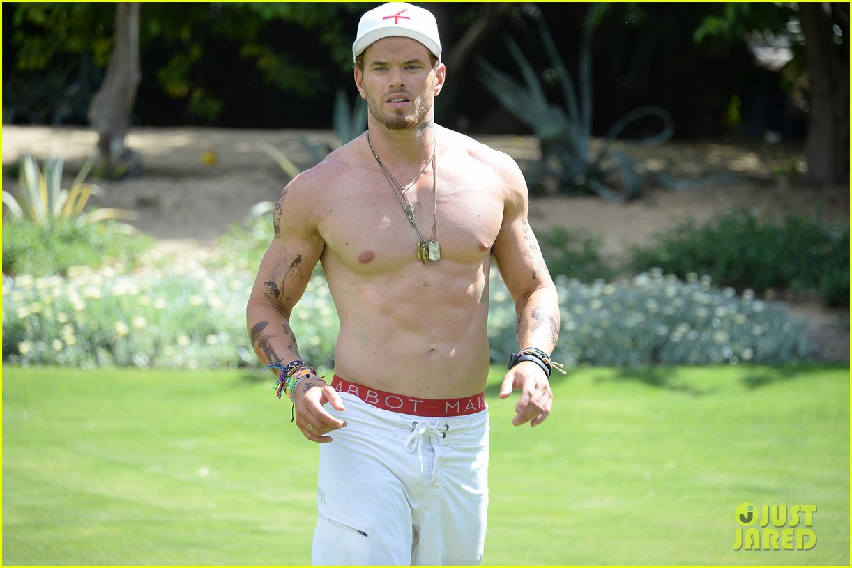 kellan lutz ashley greene show off beach bodies coachella pool party 233090179
