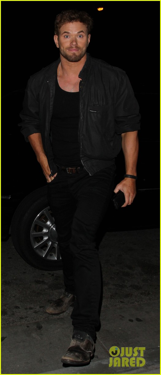 kellan lutz brittany snow stk steakhouse dinner 043084767