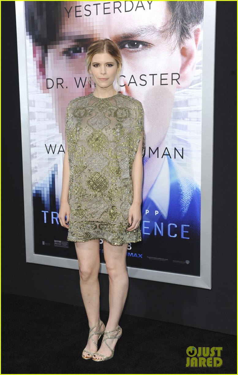 kate mara paul bettany transcendence premiere 123088876