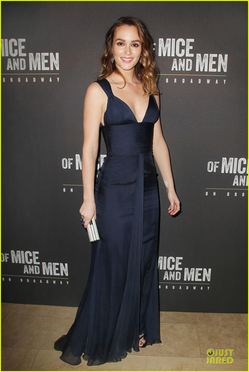 leighton meester james franco of mice men after party 03