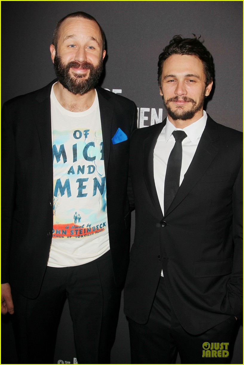 leighton meester james franco of mice men after party 13