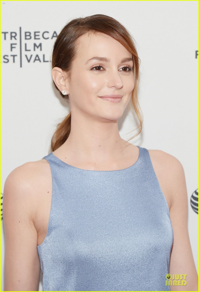 leighton meester life partners at tribeca premiere 02