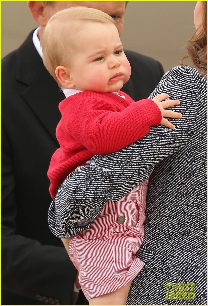 kate middleton prince william prince george say goodbye to australia 293098875