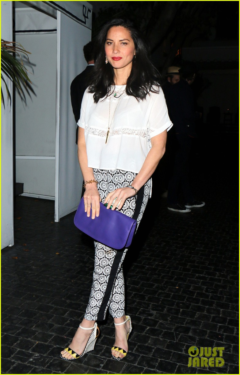 olivia munn girls night out at chateau marmont with angela kinsey 023088337
