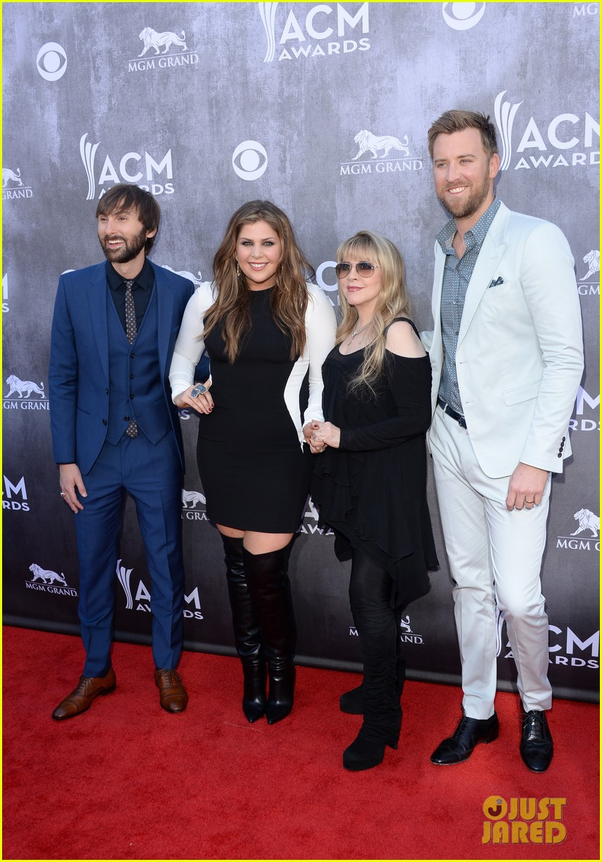 stevie nicks lady antebellum acm awards 2014 red carpet 053085892