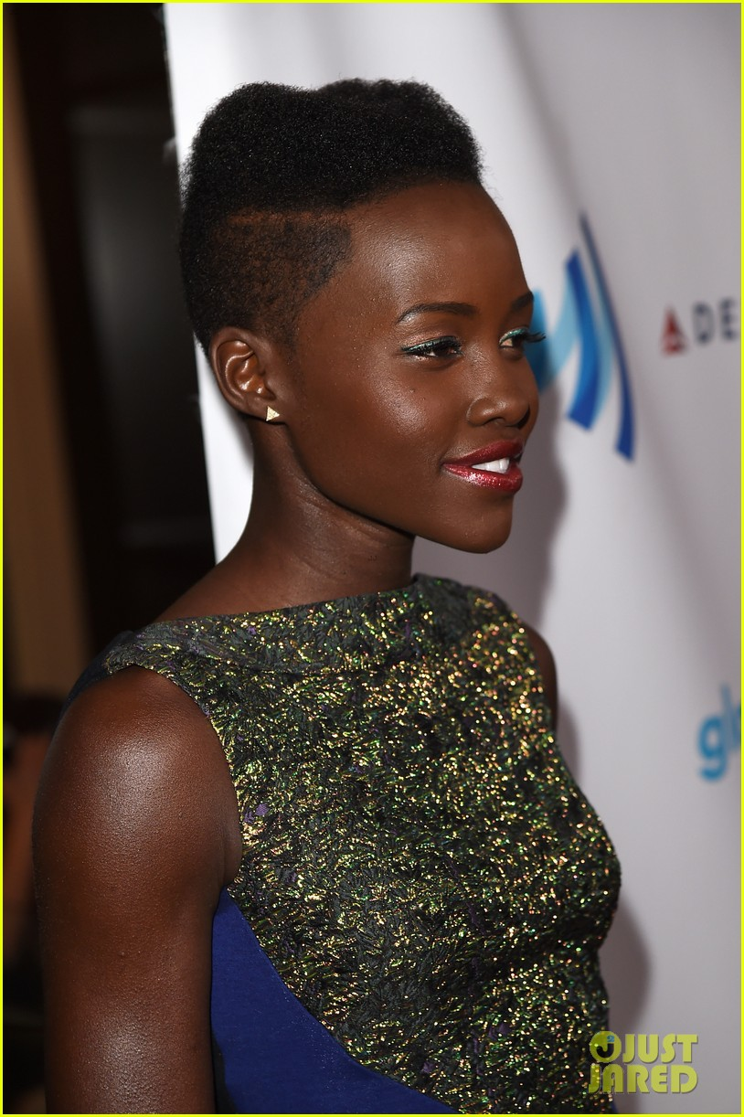 lupita nyongo attends first awards show since the oscars 10