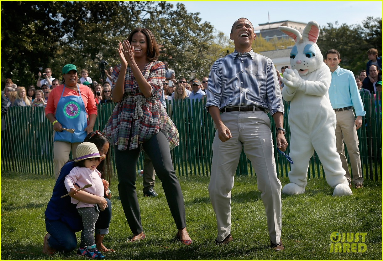 michelle obama white house easter egg roll 09