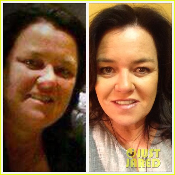 rosie odonnell shows off fifty pound weight loss on twitter 01
