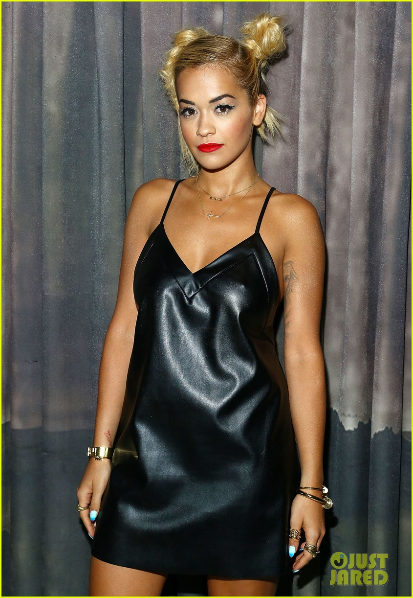 rita ora wears basketball print jacket 07