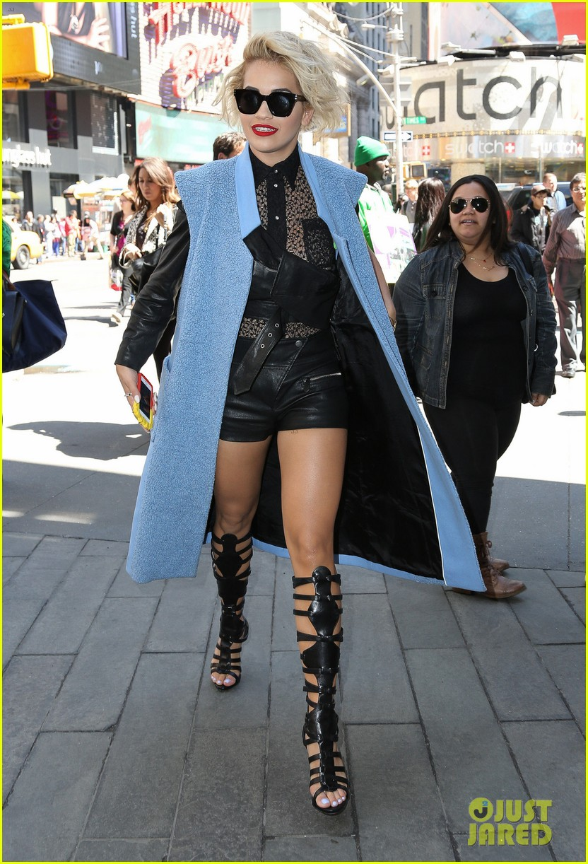 rita ora rocks three outfits to promote i will never let you down in nyc 03