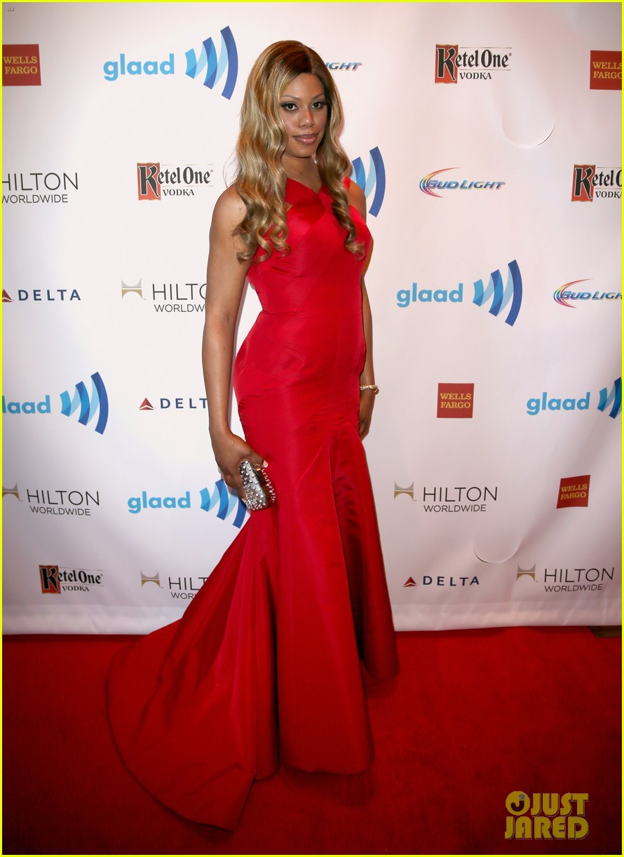 ellen page laverne cox glaad media awards 2014 113090251