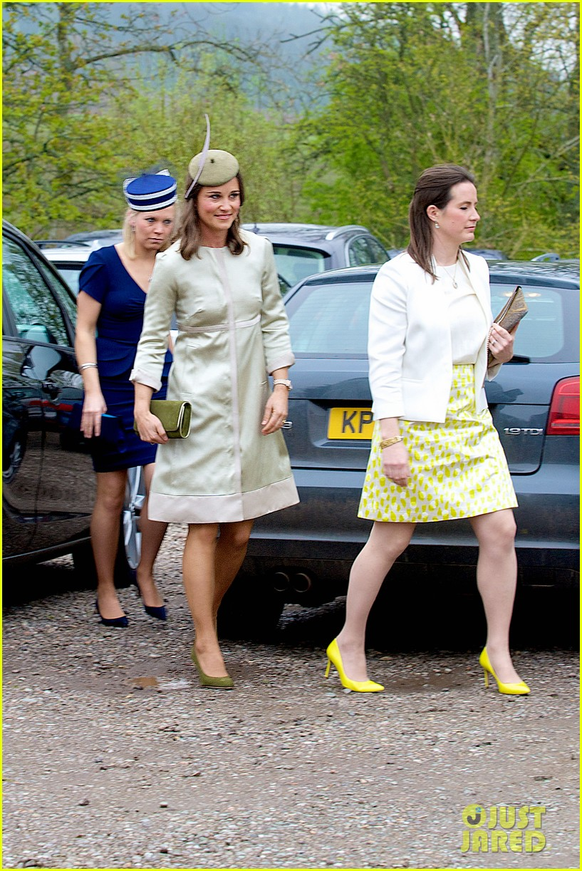 pippa middleton goes green for her friends wedding 23