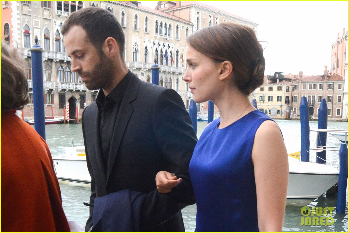 natalie portman benjamin millepied romantic vacation venice 223090819