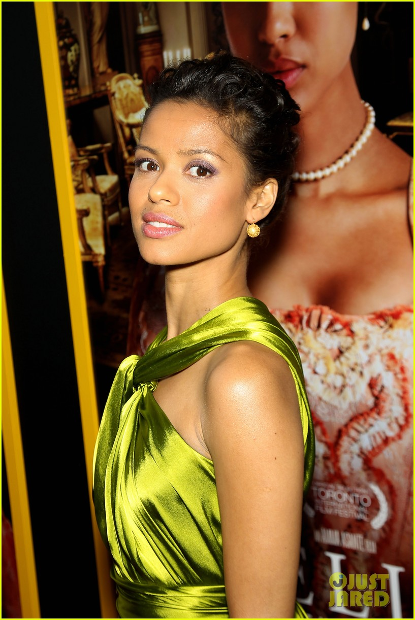 gugu mbatha raw is a green goddess at belle premiere 06