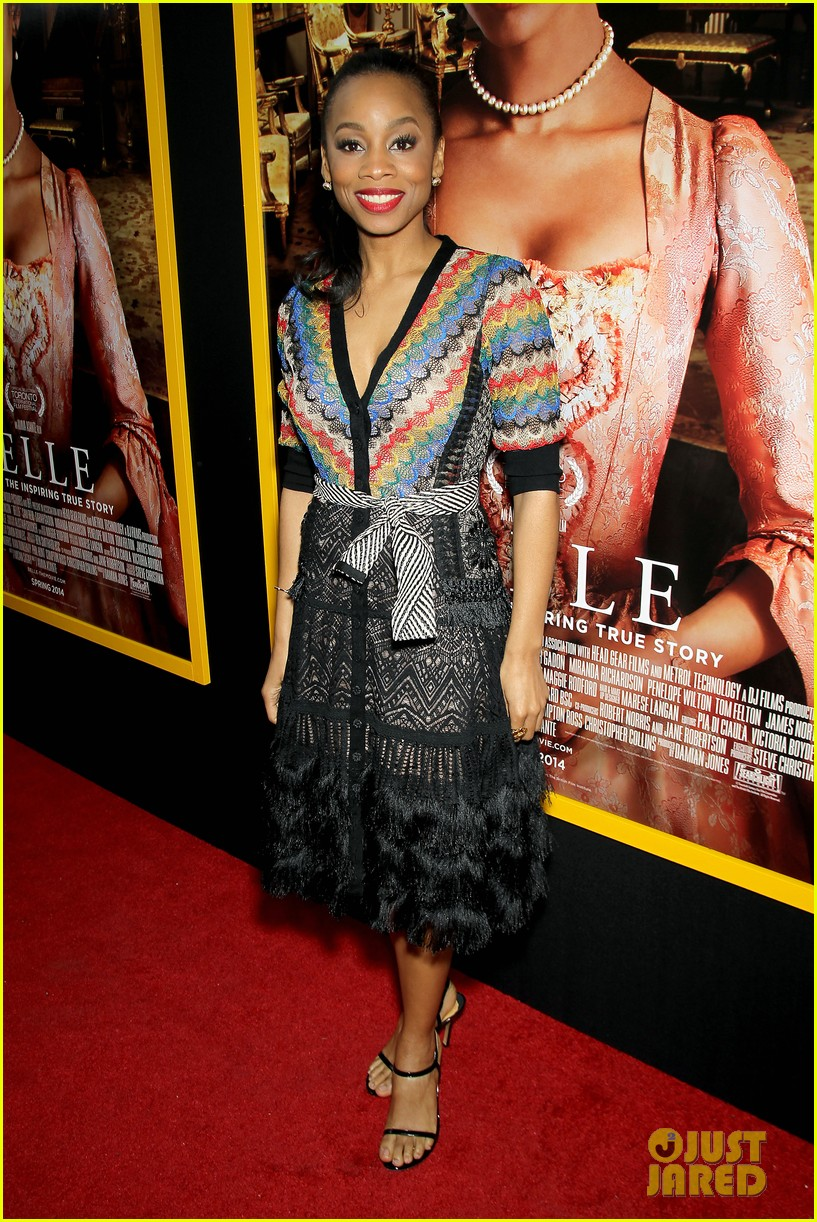 gugu mbatha raw is a green goddess at belle premiere 12