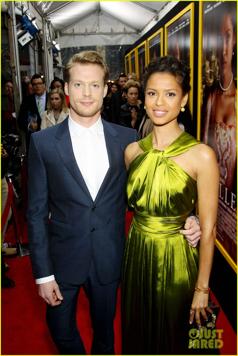 gugu mbatha raw is a green goddess at belle premiere 23