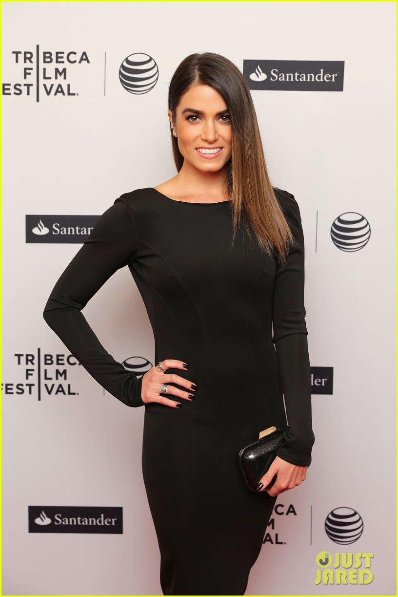 nikki reed wears a tight black dress looks amazing at tribeca premiere 11