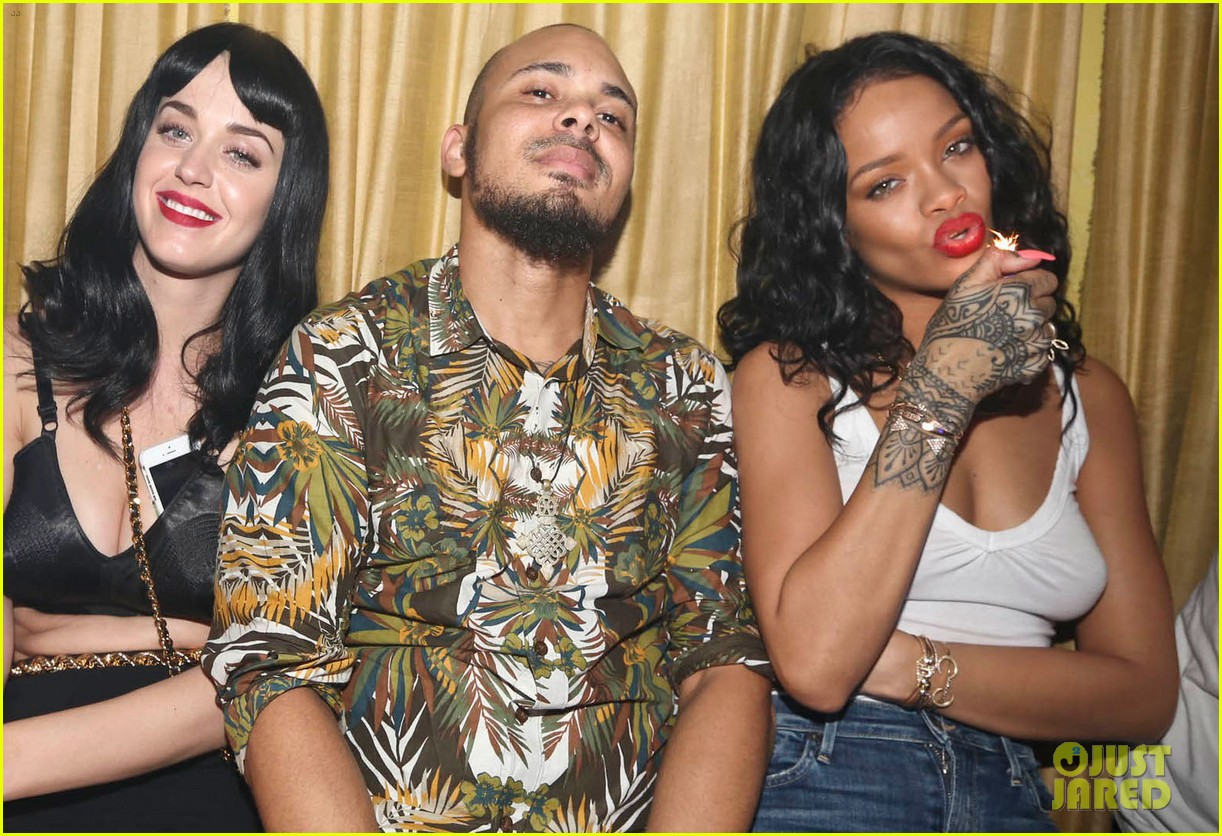rihanna katy perry party together in new york city 02