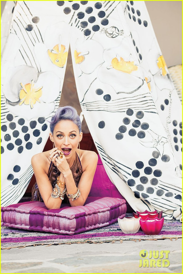nicole richie is all about color for paper magazine exclusive pic 04