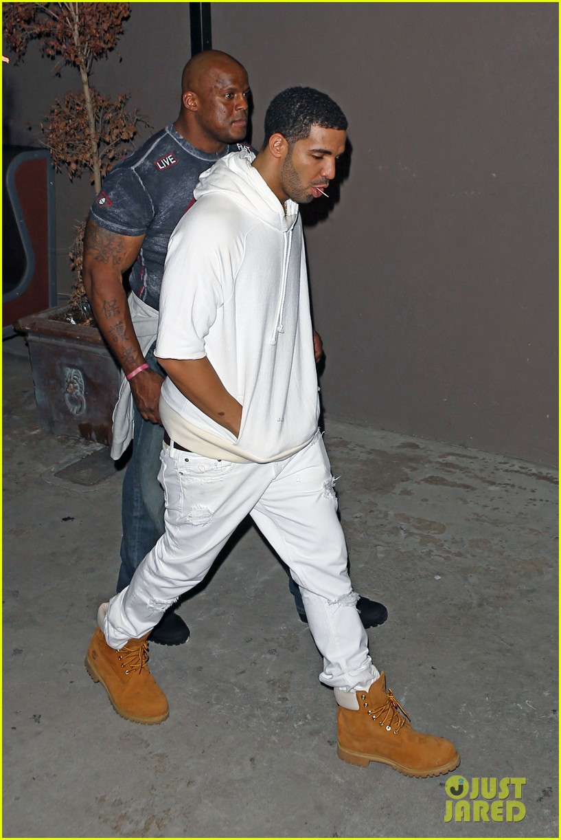 rihanna night out with drake at supperclub 103087413