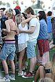emma roberts evan peters kiss at coachella 16