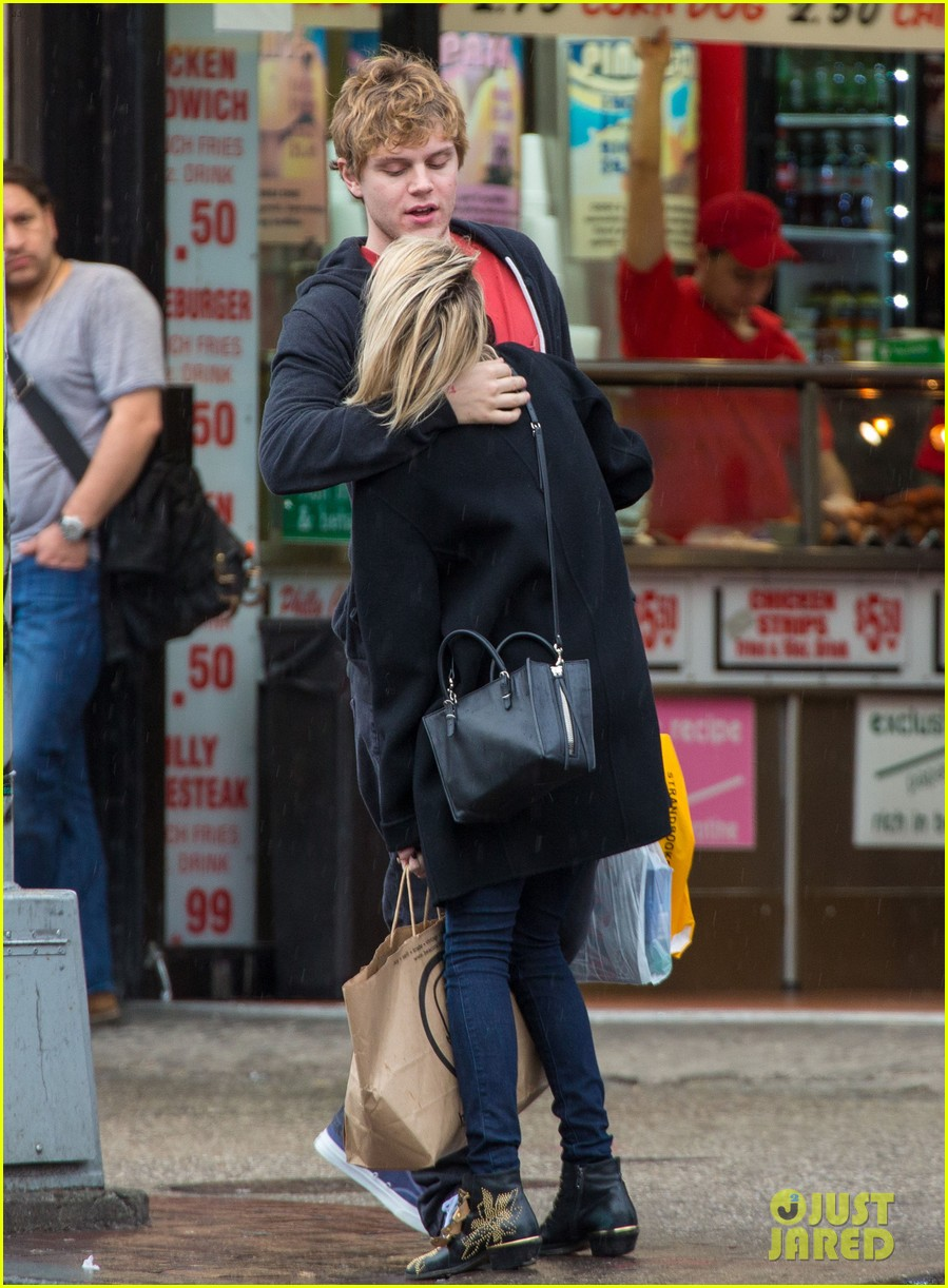 emma roberts evan peters look so in love in new york city 083098002