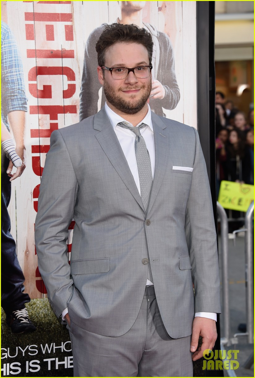 seth rogen dave franco neighbors premiere with halston sage 253101174