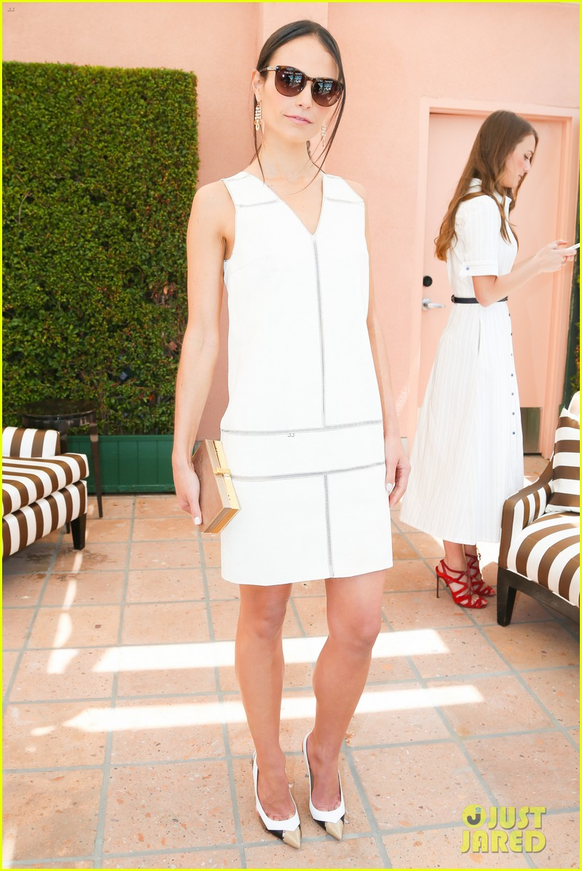 emmy rossum naya rivera carolina herrera luncheon 13