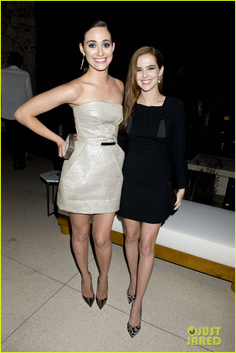 emmy rossum zoey deutch join jimmy choo at their choo 08 launch party 08