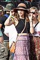 sarah hyland katharine mcphee hats coachella 10