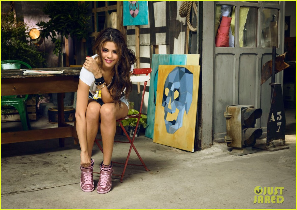 selena gomez is all style fun for adidas neos summer campaign 04