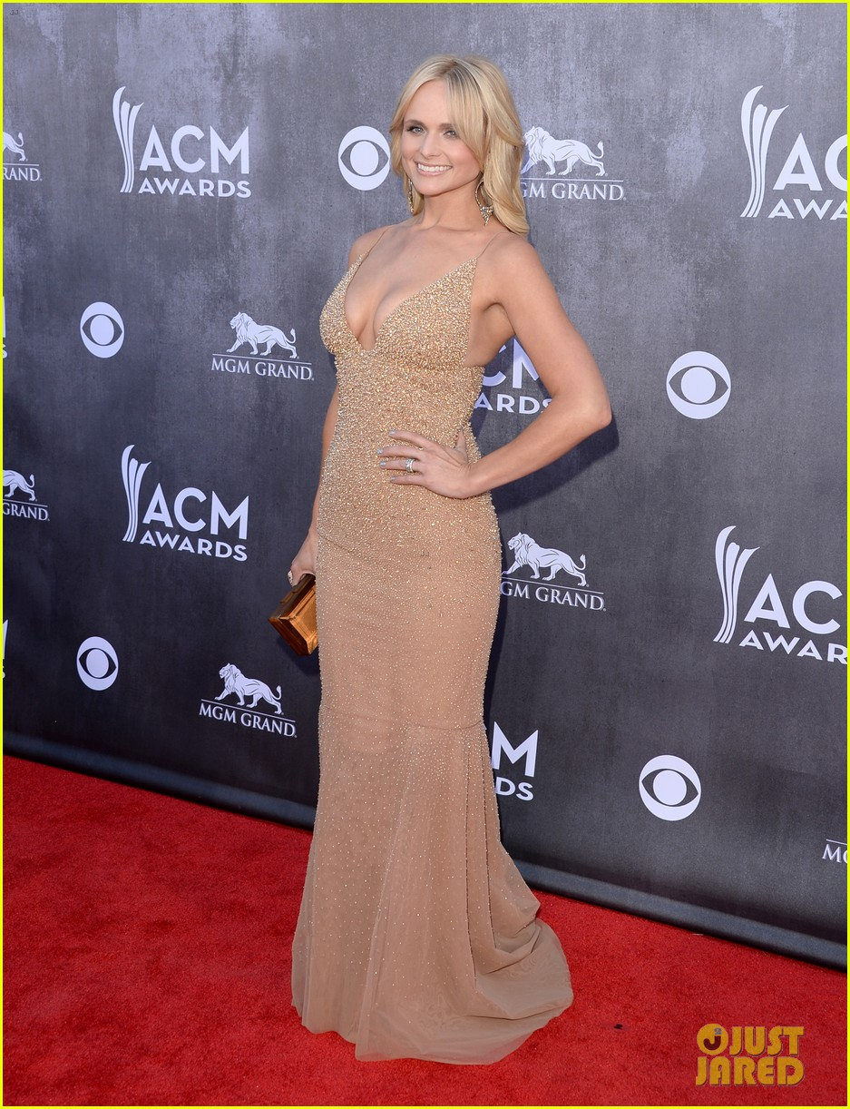 blake shelton miranda lambert acm awards 2014 red carpet 093085733